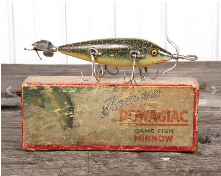 57 best images about antique lures on pinterest antiques for Fishing lure collection