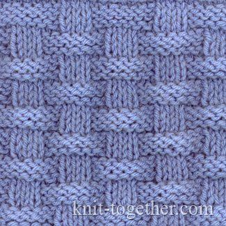 Basket (Wicker) Stitch Pattern 2
