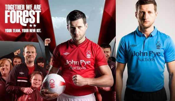 together we are #forest. new kit 2012/2013 for Nottingham ForestNottingham Forests, Kits 2012 2013, Forests 2012 2013