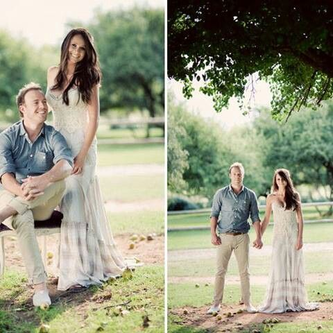 Ab de villiers with his beautiful wife
