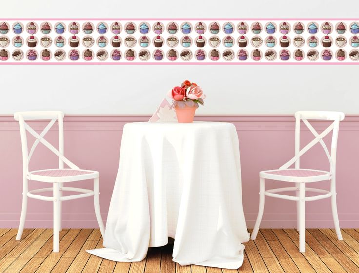 Lovely Cupcakes als Bord re f r die K chenwand I love Wandtattoo de