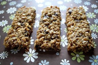 My Kitchen Escapades: Chewy Granola Bars.  The ones from the store are just glorified candy bars - gotta try these!