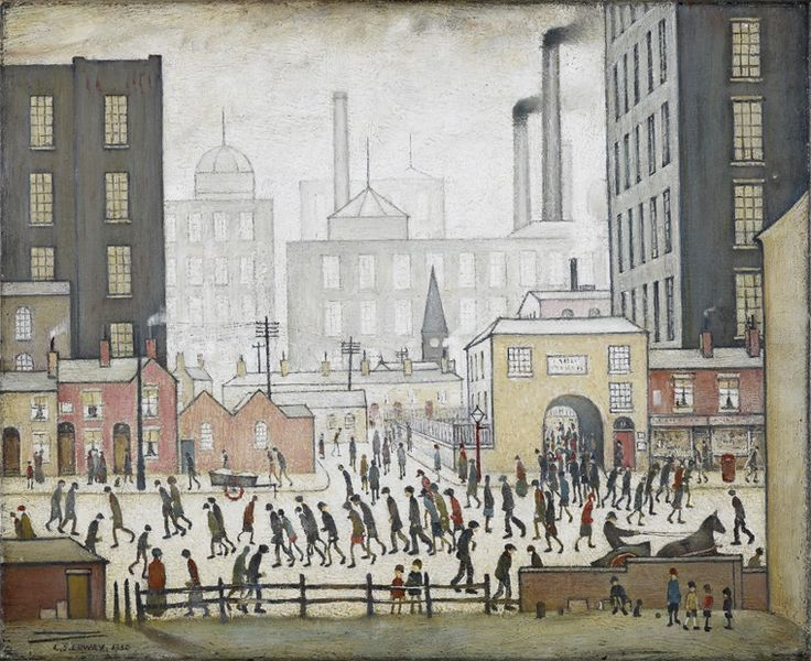 LS Lowry images -