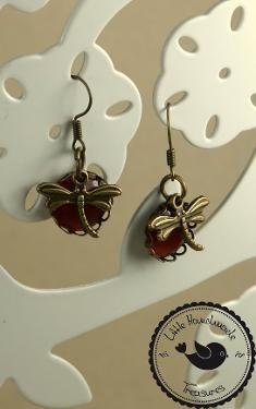 Ohrringe ❃ Libelle ❃ - Little Handmade Treasures http://yourshop.lu/by/17126