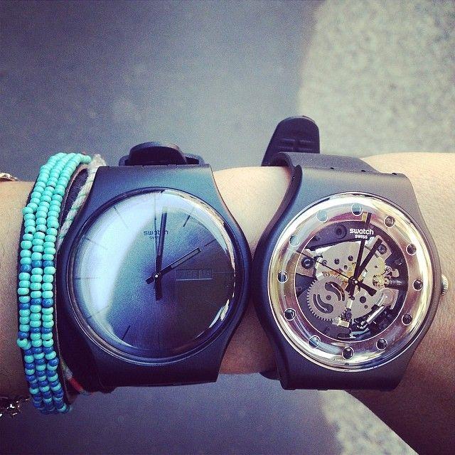 #Swatch: Giuditta Capecchi, Giudic Giuditta, New Swatch Watches Black, Instagram Photo, Watches 2014