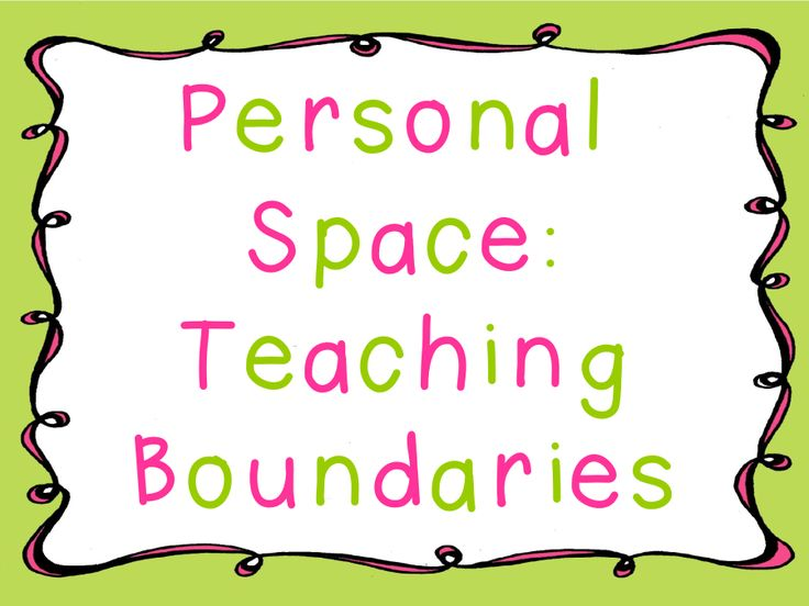 Teaching Boundaries and a FREEBIE and good suggestion using hula hoops in comments section.