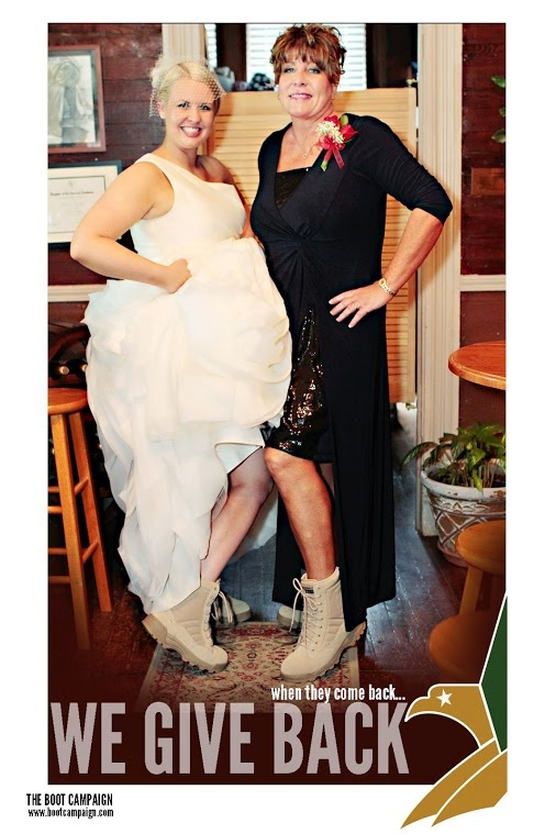 BOOT Brides Are The Best This Is My Daughter Brooke Foreman Green And I Getting Our Boots On At Her Wedding Was Cross Timbers Winery