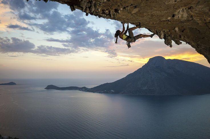 Rock climbing in Kalimnos island, Greece CallGreece.gr