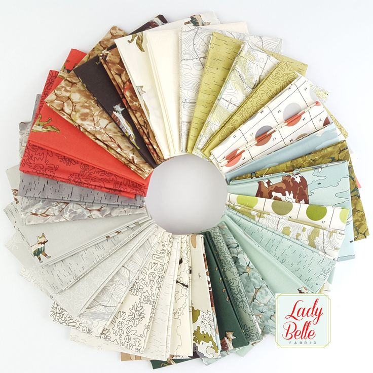 Alpine by Erin Michael for Moda Fat Quarter Bundle from Lady Belle Fabric
