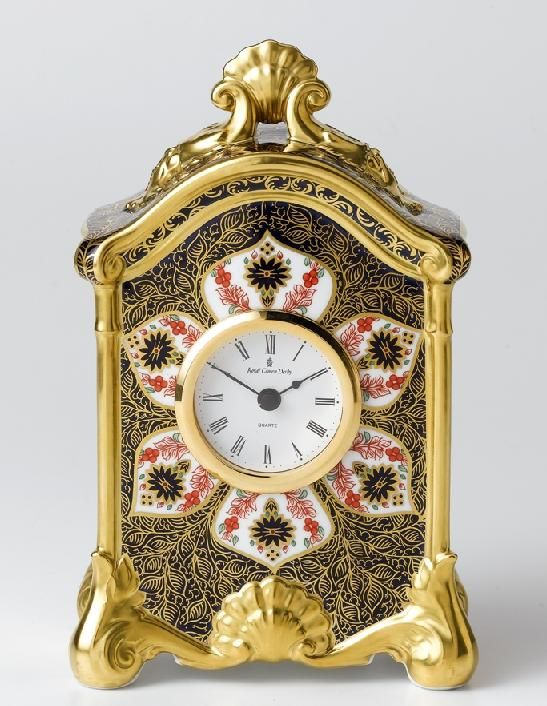 The Royal Crown Derby 260th Anniversary ClocK