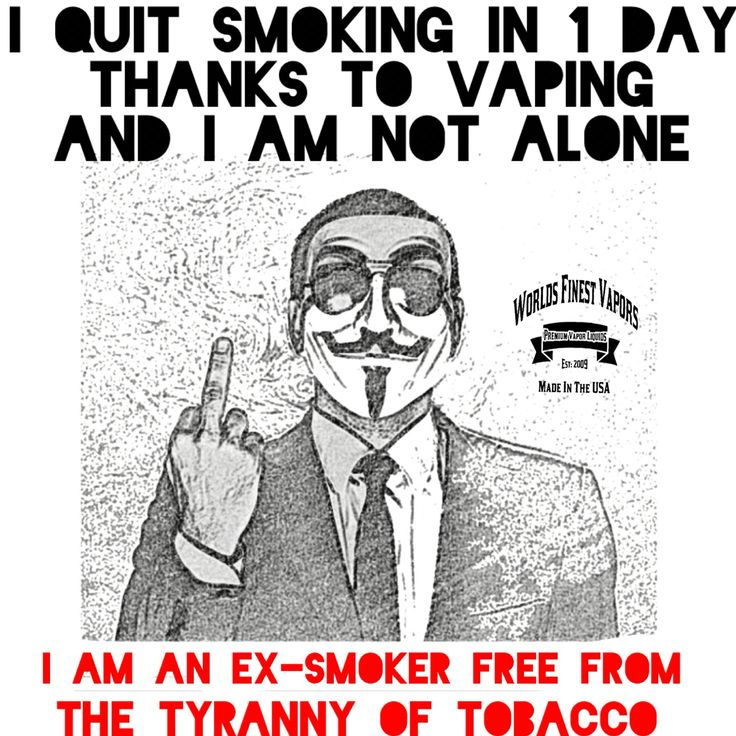 CIGARETTES HAVE BEEN CONQUERED AND VAPING IS THE WAY! ***WFV The cleanest and…