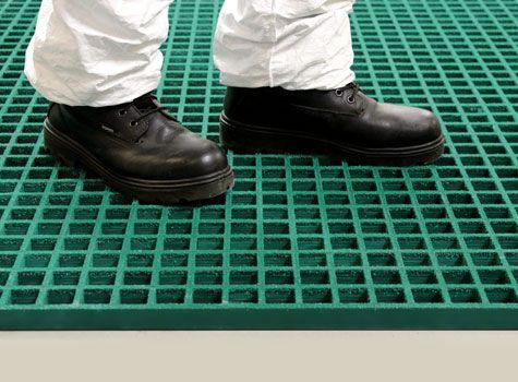 1. Anti-Slip gritted Grating for platforms, walkways, flooring & covers.