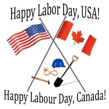 Photo: Happy Labor Day Canada & U.S!  :)