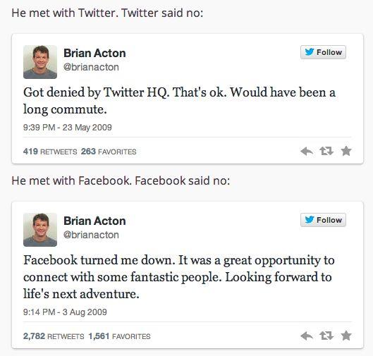 Brian Acton, Whatsapp