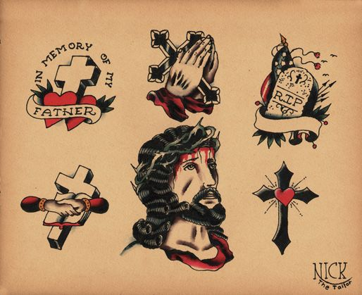 20 best images about old school tattoo on pinterest sailor jerry the cowboy and tattoo old school. Black Bedroom Furniture Sets. Home Design Ideas