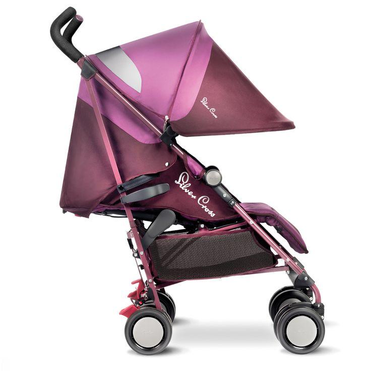 Aubergine Purple Pop Lightweight Pushchair from Silver Cross UK