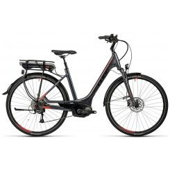 Cube Touring Hybrid 400 Easy Entry Perf Grey n Red (2016) | 99 Bikes