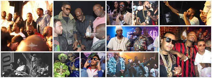The BET Awards 2017 Weekend celebrity hosted parties and events with top Hip Hop DJs at Playhouse Nightclub in Los Angeles, June 24th.
