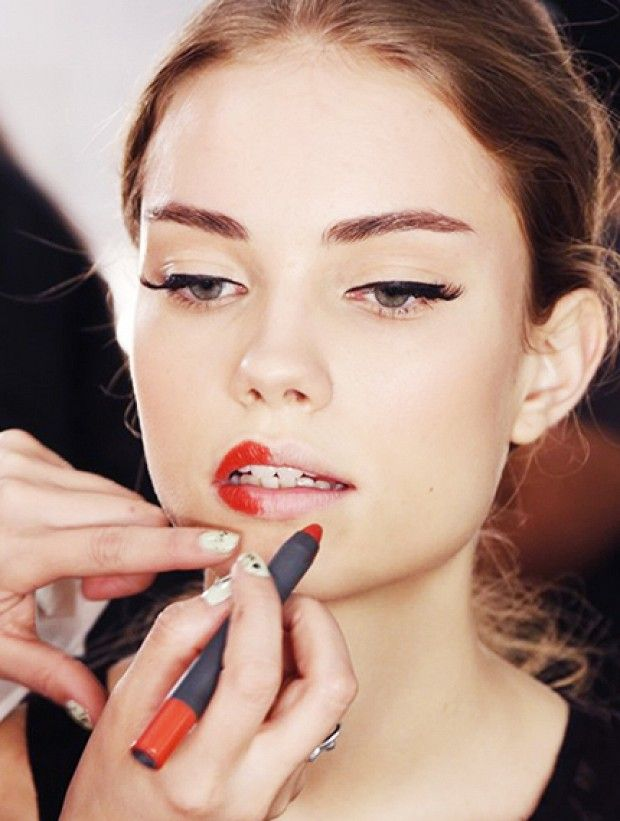 Applying that red lipstick is easier than you think!