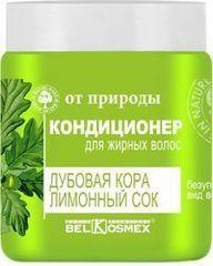 BelKosmex «От природы» Кондиционер «Для жирных волос» (дубовая кора и лимонный сок) 500 г.