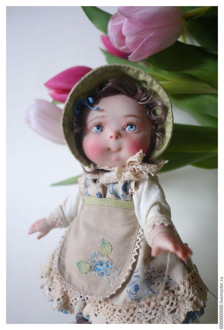 Купить Любочка - авторская ручная работа, кукла ручной работы, кукла в подарок, интерьерная кукла
