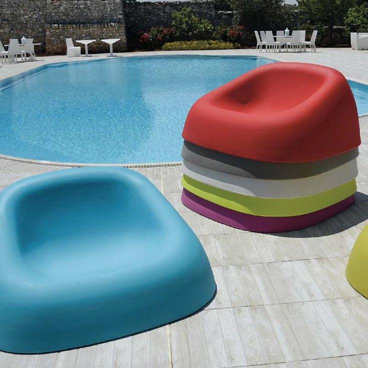 Design στοιβαζόμενο κάθισμα εξωτερικού χώρου
