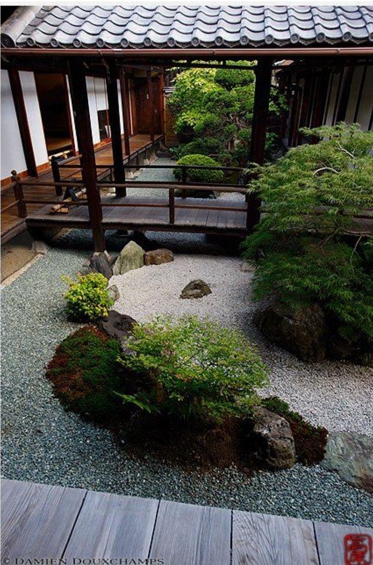 Inner zen garden Kanchi in temple 2216 best