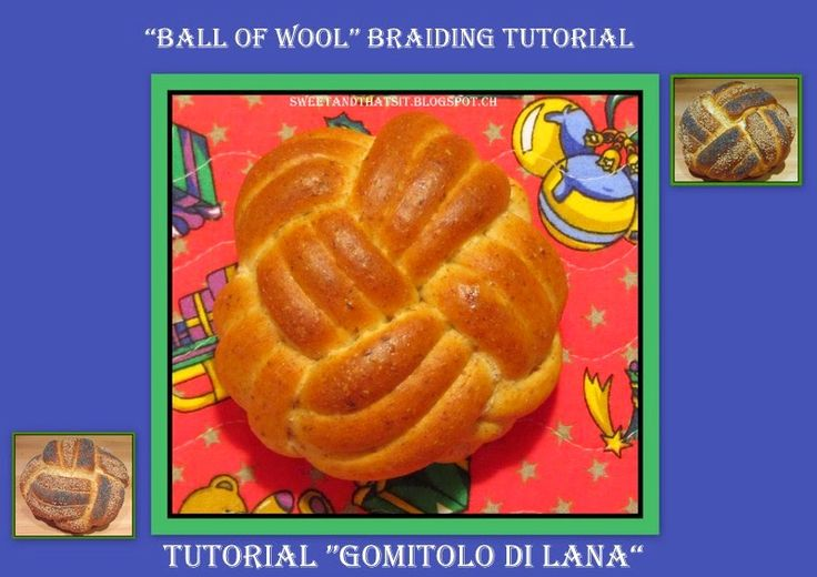 Sweet and That's it: Brading Tutorial: Ball of Wool - Tutorial Intrecci...