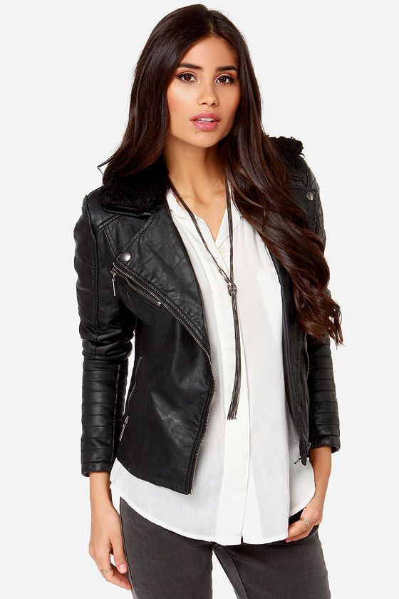 The 25  best Vegan leather jacket ideas on Pinterest | Vegan ...