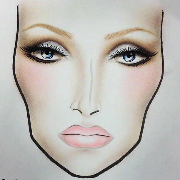 how to makeup face for wedding 17 best images about make up charts on 5020