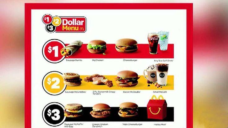 FOX NEWS: McDonalds Taco Bell and Wendys debuting cheap menu items amid fast-food price wars