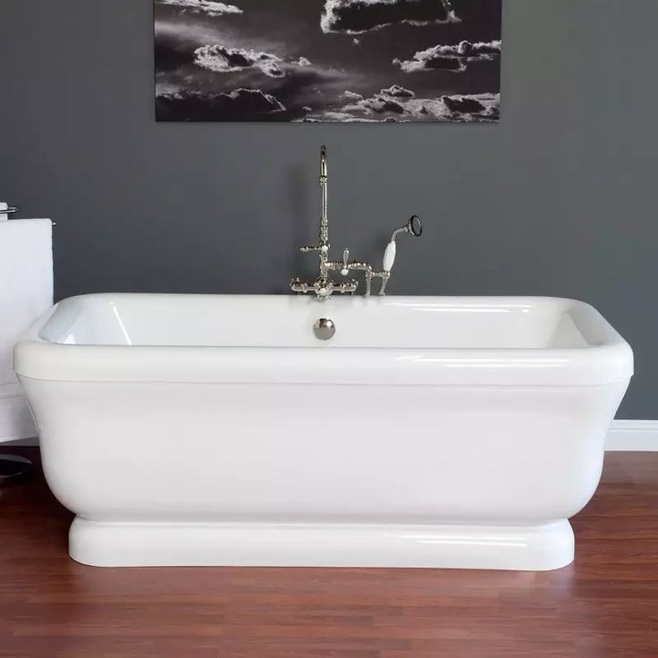 88 best bathtubs images on Pinterest | Bath tub, Clawfoot tubs and ...