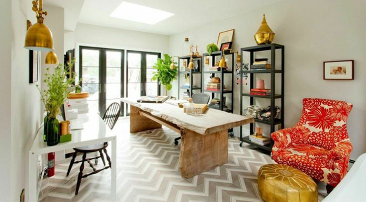 Genevieve Gorder's Office