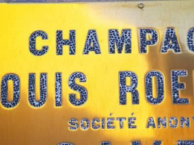 Polished Brass Sign at Winery of Louis Roederer, Reims, Champagne, Marne, Ardennes, France Photographic Print by Per Karlsson at Art.com