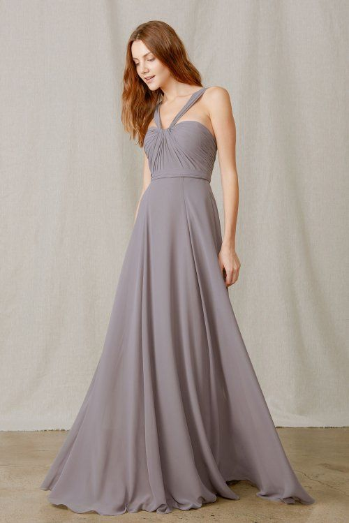 Wedding Dresses With Flats : Best images about flat chiffon bridesmaid dresses on