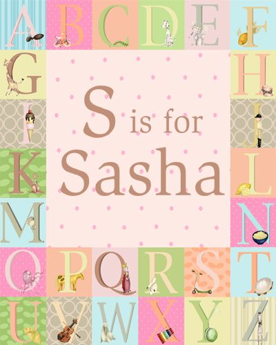 personalize this canvas just for your little girl!