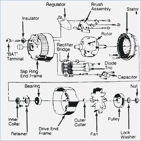 Toyota Alternator Wiring Diagram Plus Alternator 2006