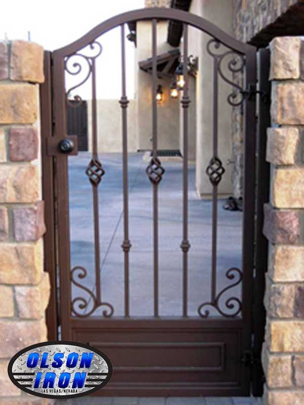 Olson Iron Gates Las Vegas | GATE SPECIALS | Double Gates, Wrought Iron Gates,Gates Las Vegas
