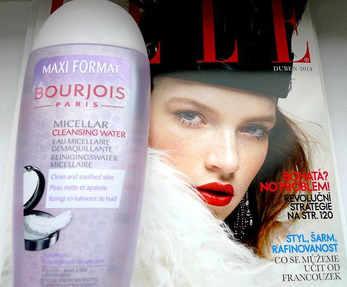 Micelární voda Bourjois jako příloha časopisu Elle