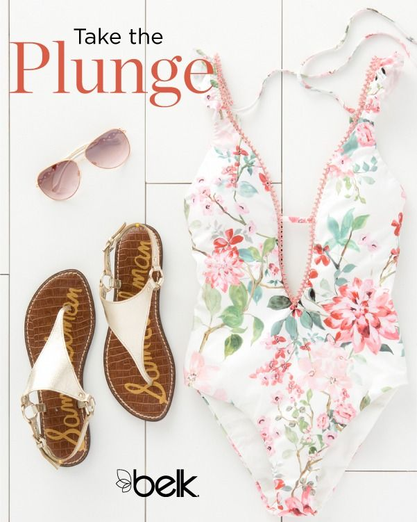 Complete your beach-ready look with matching sandals and rose-tinted  sunglasses. Shop the latest women's swimwear trends in ...