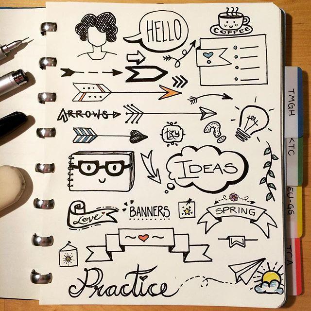 M s de 25 ideas incre bles sobre apuntes en pinterest - Formas de letras para decorar ...