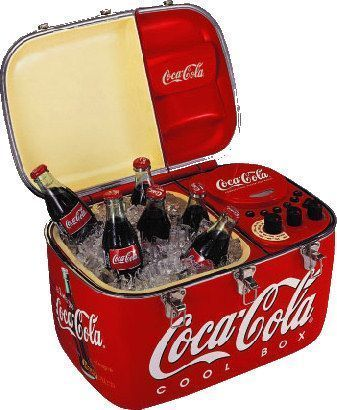 Coca-Cola Radio cooler                                                                                                                                                      More