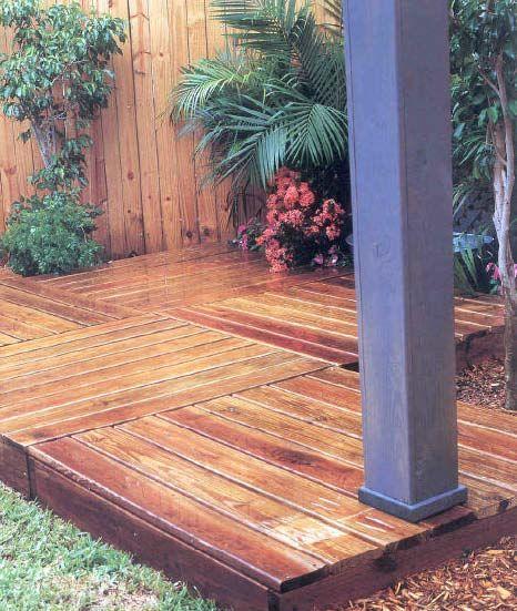 portable wood deck - Google Search