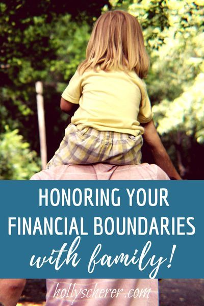 financial boundaries in marriage