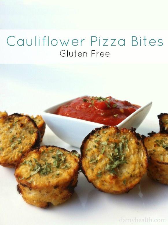 Guilt-Free Pizza Bites (Cauliflower Pizza Bites)