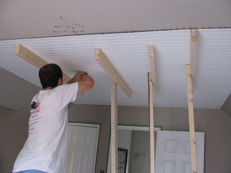 Best Wainscoting Kits Ideas On Pinterest Beadboard - Bathroom ceiling tiles home depot for bathroom decor ideas