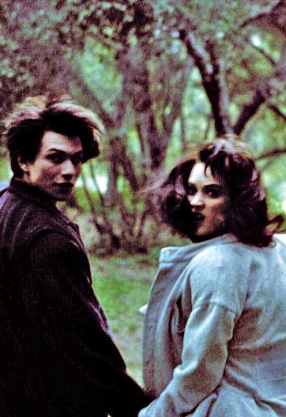 J.D. (Christian Slater) & Veronica (Winona Ryder), Heathers (1989)