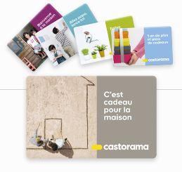 carte cadeau Castorama.fr
