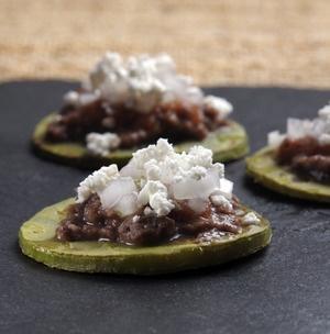 Sopecitos de nopal | Cocina y Comparte | Recetas de @cocina al natural