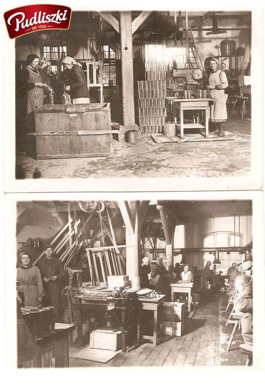 1930r. - Produkcja puszek w Pudliszkach. #pudliszki #historia